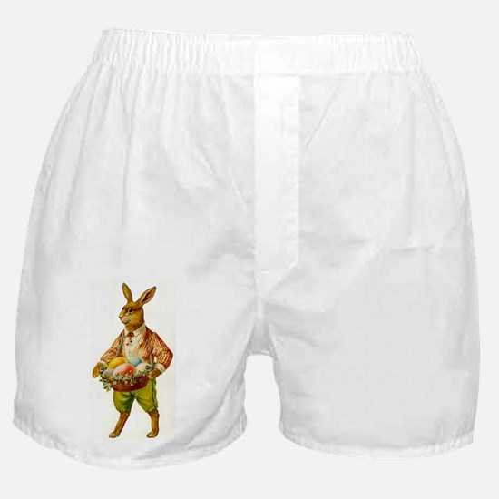 Antique Easter Bunny Boxer Shorts