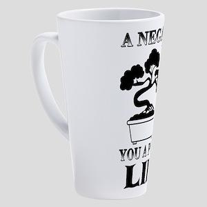 Bonsai Tree 17 oz Latte Mug