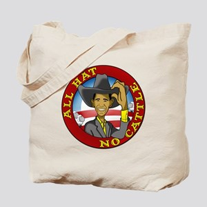All Hat No Cattle Tote Bag