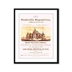 1881 Nashville Exposition Framed Panel Print