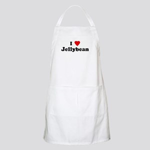 I Love Jellybean BBQ Apron