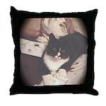 Get Well Soon Cat Throw Pillow