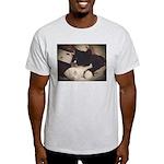 Tuxedo Cat (Sympathy) Light T-Shirt