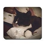 Tuxedo Cat (Sympathy) Mousepad