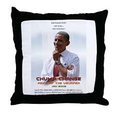 Chump Change Throw Pillow