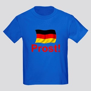German Prost (Cheers!) Kids Dark T-Shirt