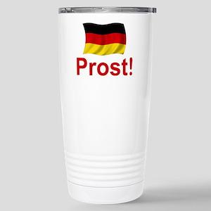 German Prost (Cheers!) Stainless Steel Travel Mug