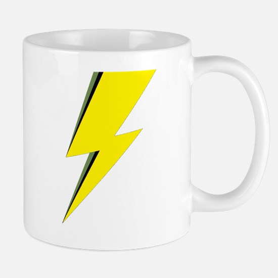 Lightning Bolt logo Mugs