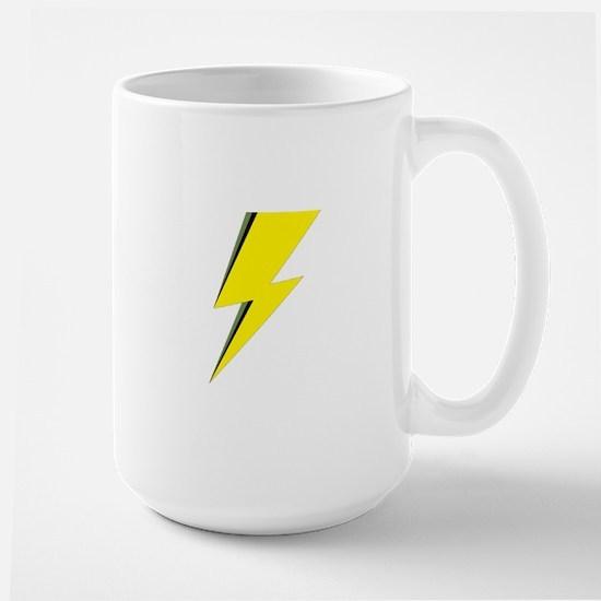 Lightning Bolt logo Mugs