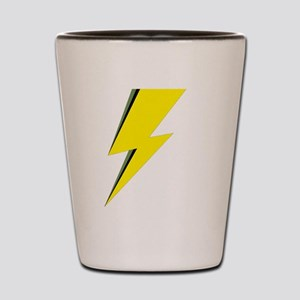 Lightning Bolt logo Shot Glass