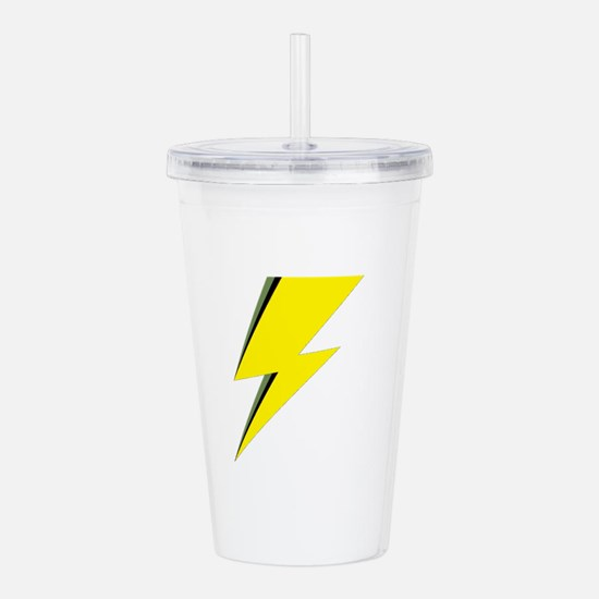 Lightning Bolt logo Acrylic Double-wall Tumbler