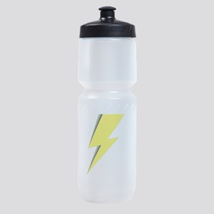 Lightning Bolt logo Sports Bottle