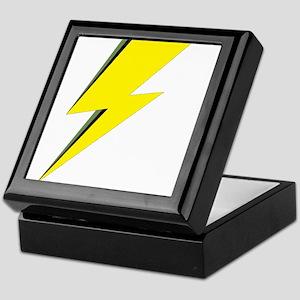 Lightning Bolt logo Keepsake Box