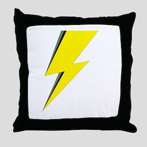 Lightning Bolt logo Throw Pillow