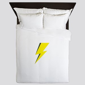 Lightning Bolt logo Queen Duvet
