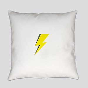 Lightning Bolt logo Everyday Pillow