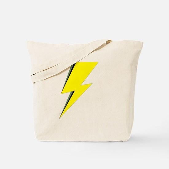 Lightning Bolt logo Tote Bag