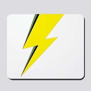 Lightning Bolt logo Mousepad