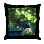 A Visitor Throw Pillow