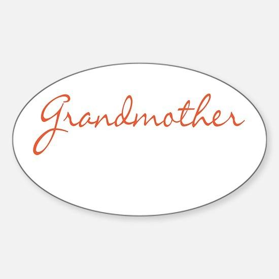 Grandmother Sticker (Oval)