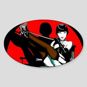 Brooksie Oval Sticker