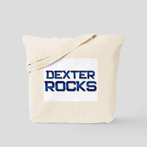 dexter rocks Tote Bag