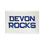 devon rocks Rectangle Magnet (10 pack)