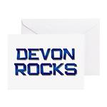 devon rocks Greeting Cards (Pk of 10)
