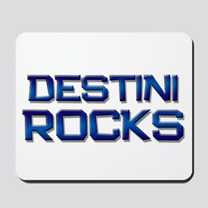 destini rocks Mousepad