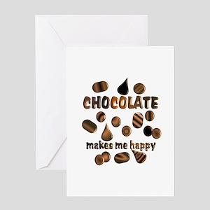 Chocolate greeting cards cafepress chocolate greeting card m4hsunfo
