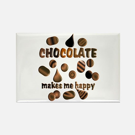 Chocolate Rectangle Magnet (100 pack)