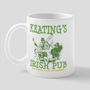 Keating's Irish Pub Personalized Mug