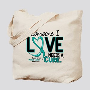 Needs A Cure 2 OVARIAN CANCER Tote Bag