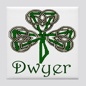 Dwyer Shamrock Tile Coaster