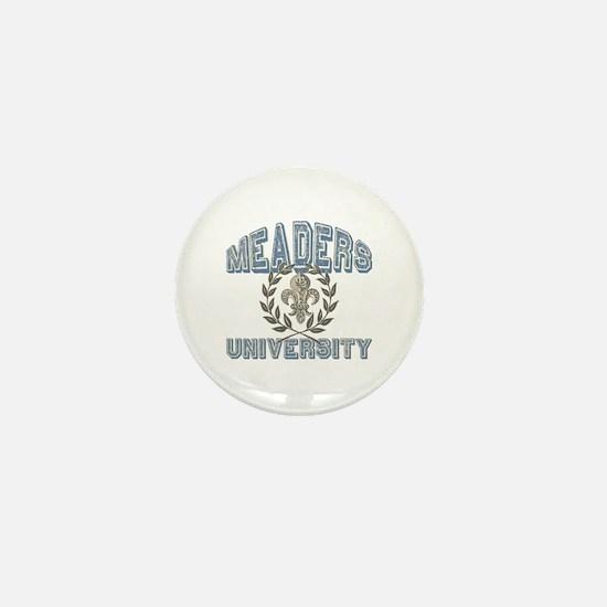 Meaders Last Name University Mini Button