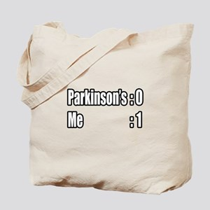 """I'm Beating Parkinson's"" Tote Bag"