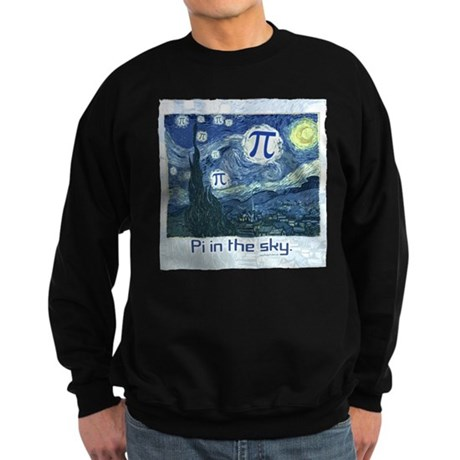 Pi in the Sky Sweatshirt (dark)