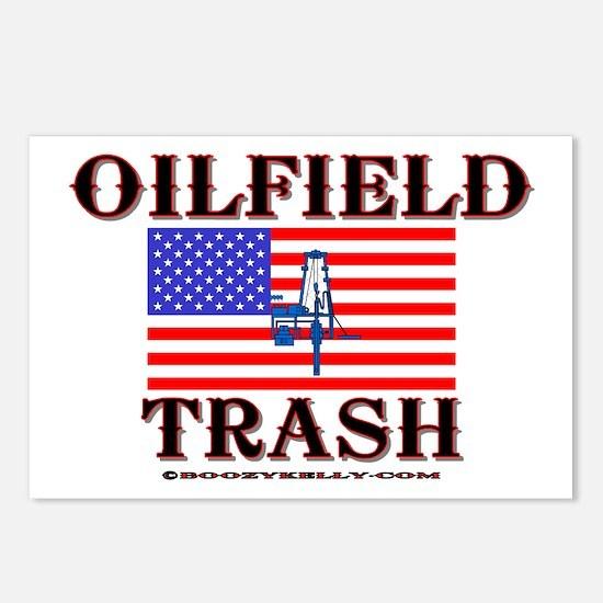 American Oilfield Trash Postcards (Package of 8)
