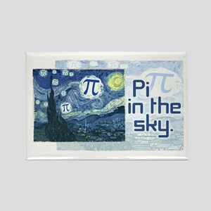 Pi in the Sky Rectangle Magnet