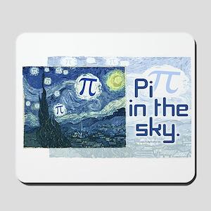 Pi in the Sky Mousepad