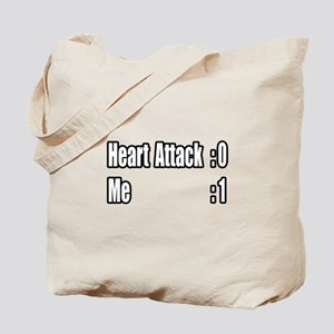 """Heart Attack Survivor"" Tote Bag"