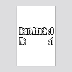 """Heart Attack Survivor"" Mini Poster Print"