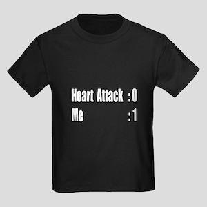 """""""Heart Attack Survivor"""" Kids Dark T-Shirt"""