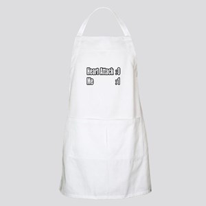 """Heart Attack Survivor"" BBQ Apron"