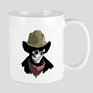 Cowboy Skull Mug