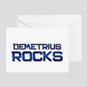 demetrius rocks Greeting Card