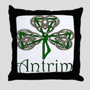 Antrim Shamrock Throw Pillow