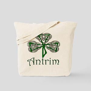 Antrim Shamrock Tote Bag