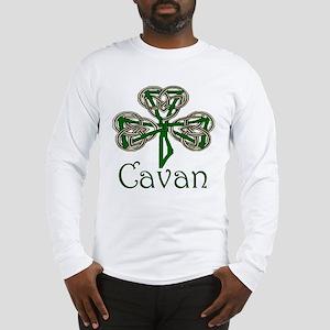 Cavan Shamrock Long Sleeve T-Shirt
