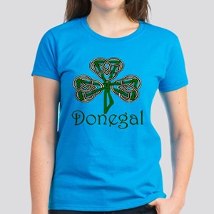 Donegal Shamrock Women's Dark T-Shirt